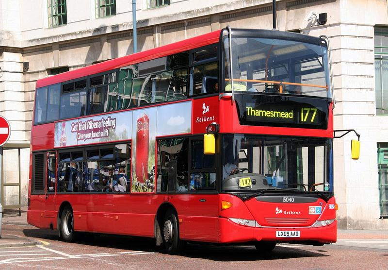 London Bus Routes Route 177 Peckham Thamesmead