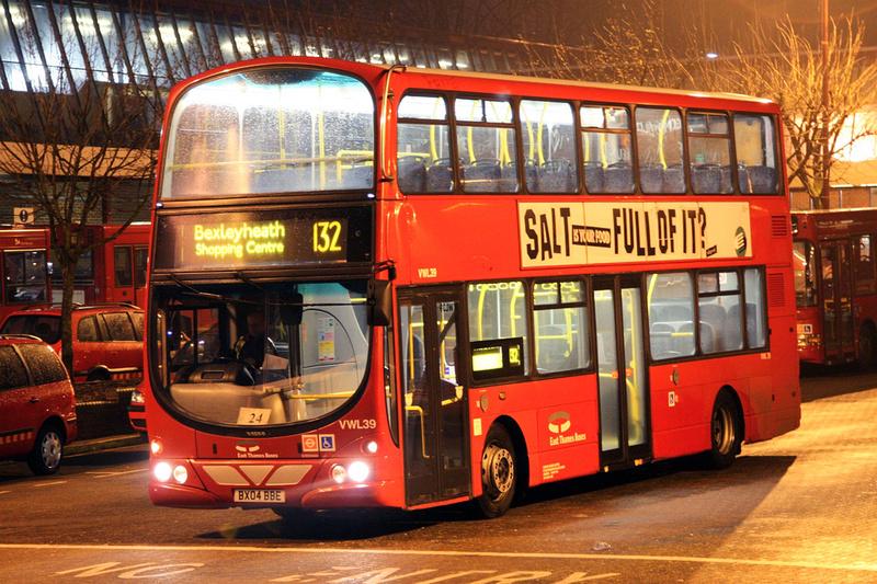 London Bus Routes Route 132 Bexleyheath Shopping