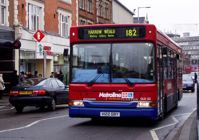London Bus Routes Route 182 Brent Cross Harrow Weald