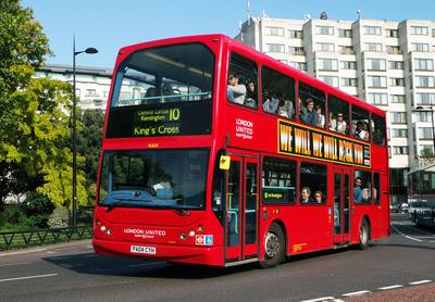 Route 10, London United RATP, VLE25, PA04CYH, Marble Arch