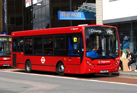 Route 146, Stagecoach London 36308, LX56EAE, Bromley
