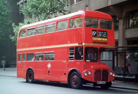 London Bus Routes Route 15b East Ham Oxford Circus