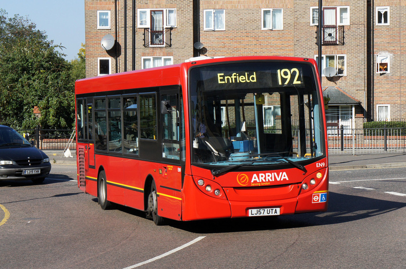 London Bus Routes Route 192 Enfield Tottenham Hale