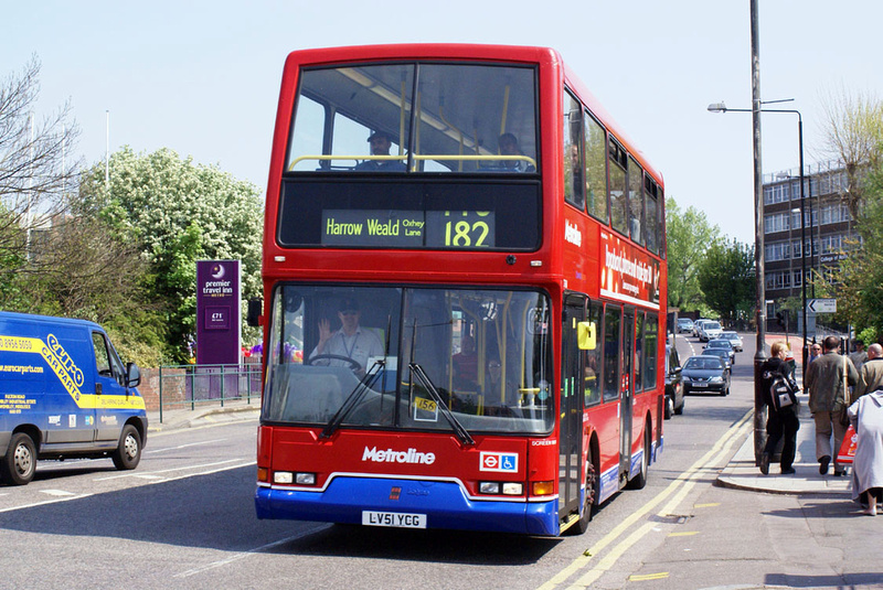 London Bus Routes Route 182 Brent Cross Harrow Weald