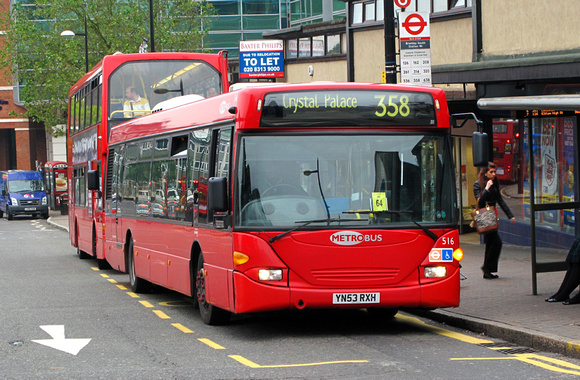 London Bus Routes Route 358 Crystal Palace Orpington