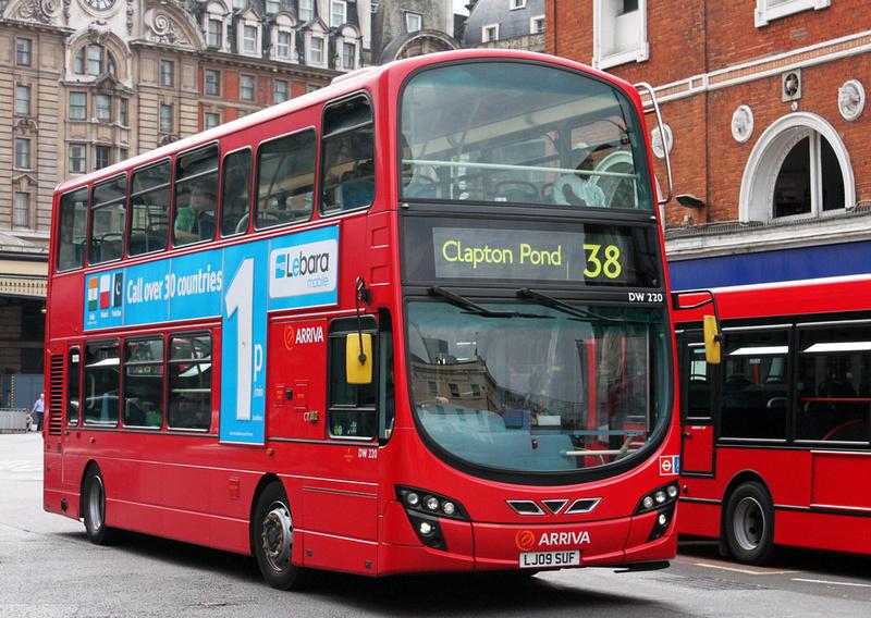London Bus Routes Route 38 Clapton Pond Victoria