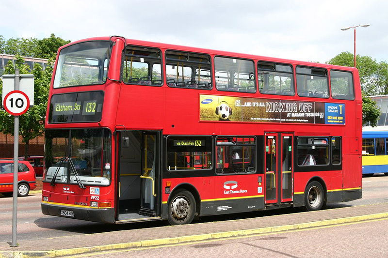 London Bus Routes Vehicles On Loan Route 132 East