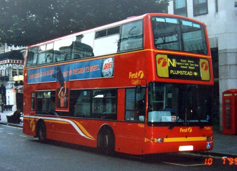 London Bus Routes Route N1 Thamesmead Tottenham Court