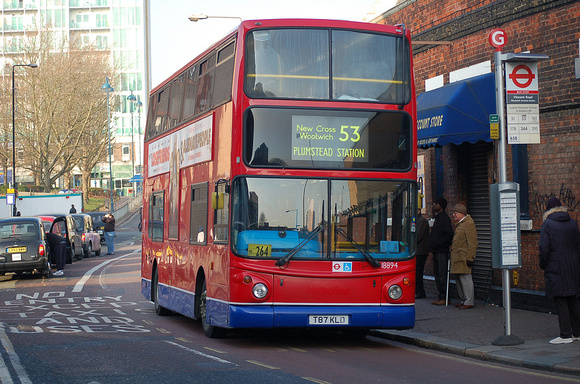 London Bus Routes Route 53 Plumstead Station Lambeth