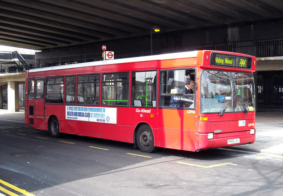 Route 244, Go Ahead London, LDP56, R456LGH, Abbey Wood
