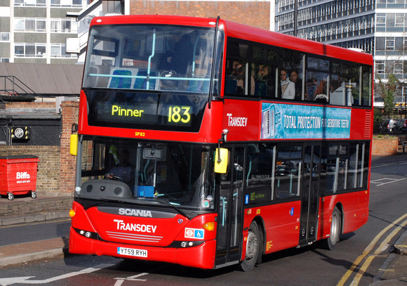 London Bus Routes | Route 183: Golders Green - Pinner