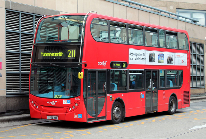 London Bus Routes Route 211 Hammersmith Waterloo