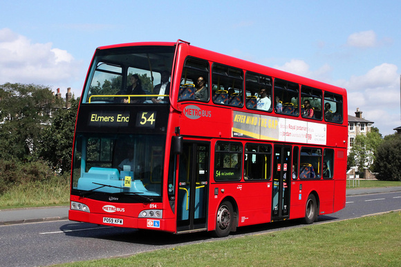 Route 54, Metrobus 894, PO59KFW, Blackheath