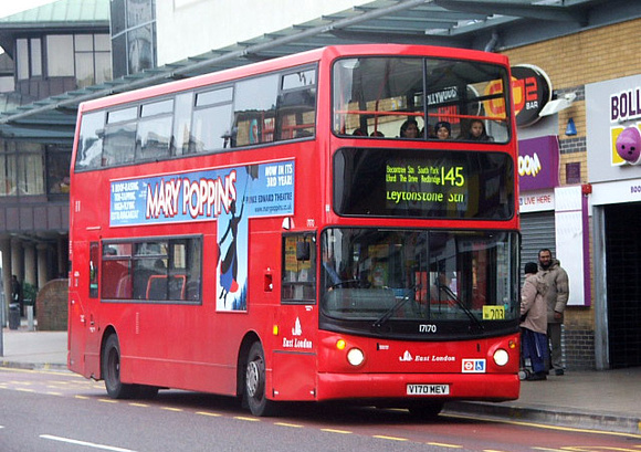 Route 145, East London ELBG 17170, V170MEV, Ilford