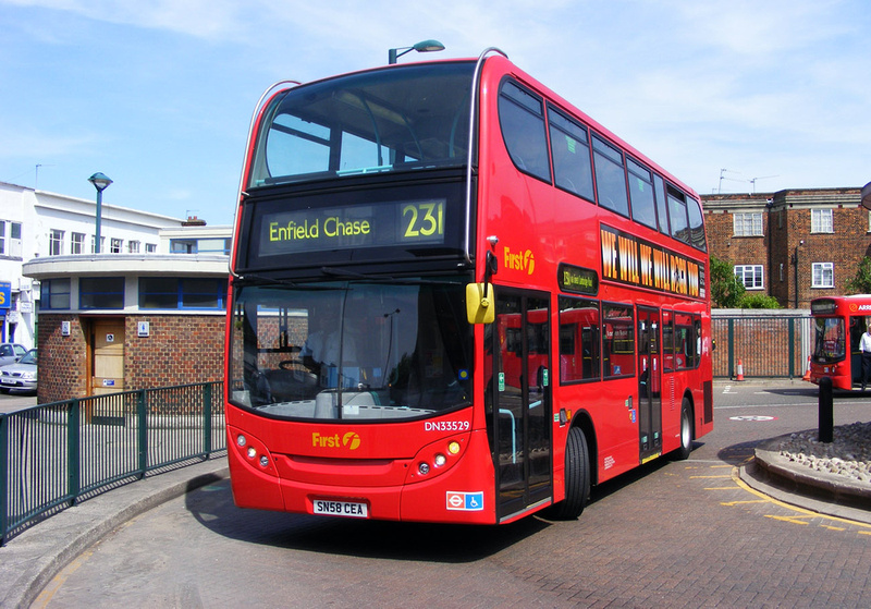 london bus routes route 231 enfield chase turnpike. Black Bedroom Furniture Sets. Home Design Ideas