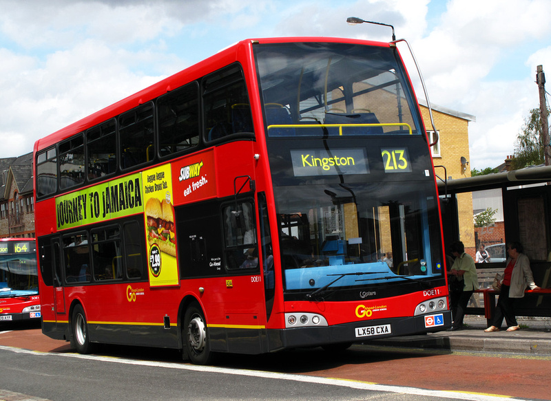 Park Road Garage >> London Bus Routes | Route 213: Kingston - Sutton, Bushey Road