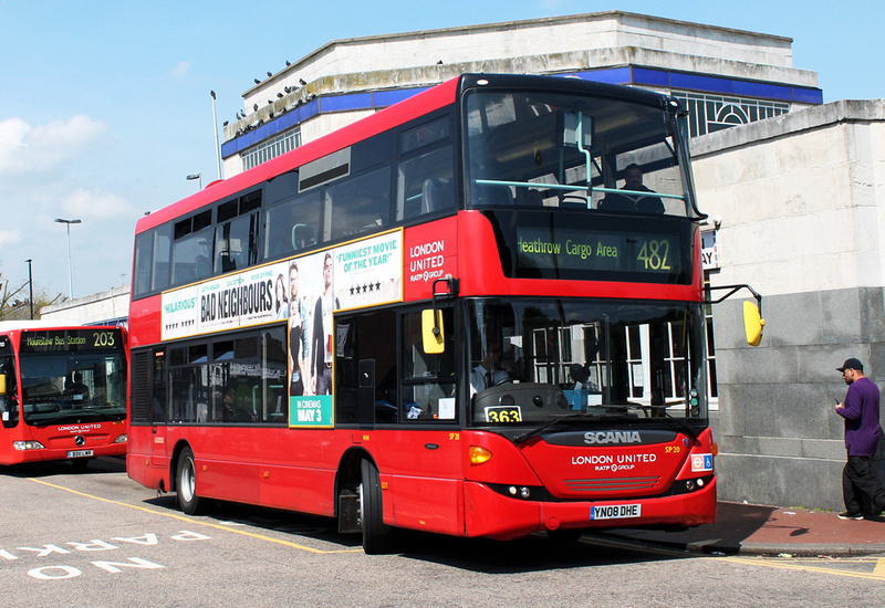 London Bus Routes Route 482 Heathrow Terminal 5