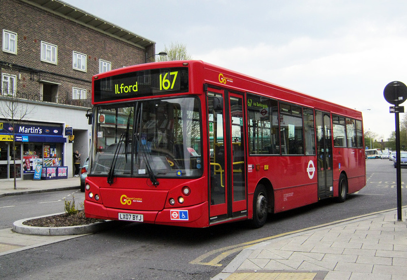 London Bus Routes Route 167 Ilford Loughton