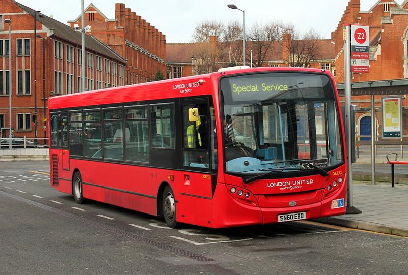 London Bus Routes Route 533 Hammersmith Castelnau