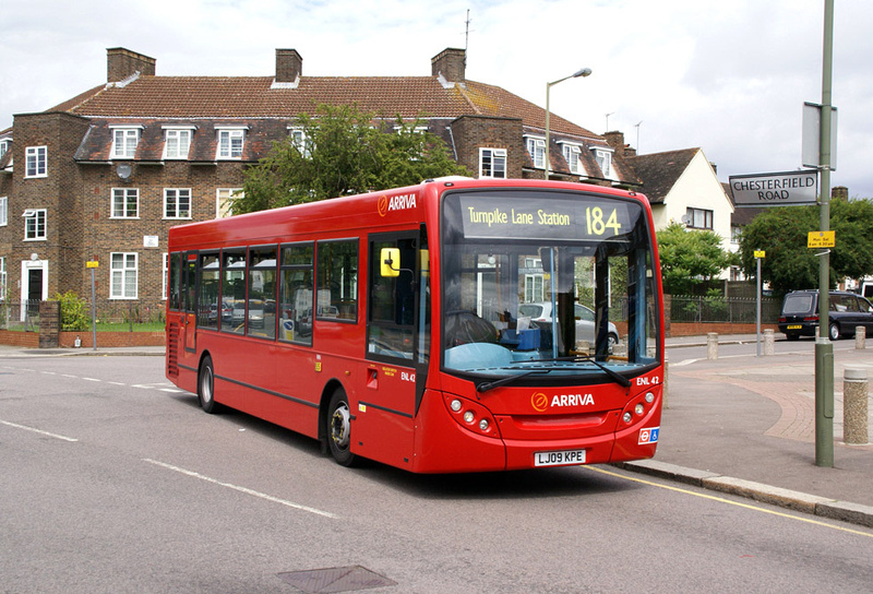 london bus routes route 184 barnet chesterfield road. Black Bedroom Furniture Sets. Home Design Ideas