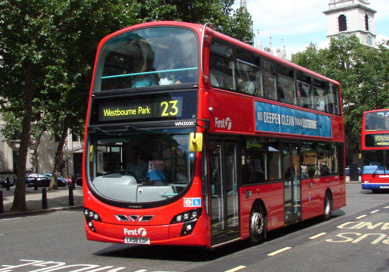 London Bus Routes Route 23 Hammersmith Westbourne