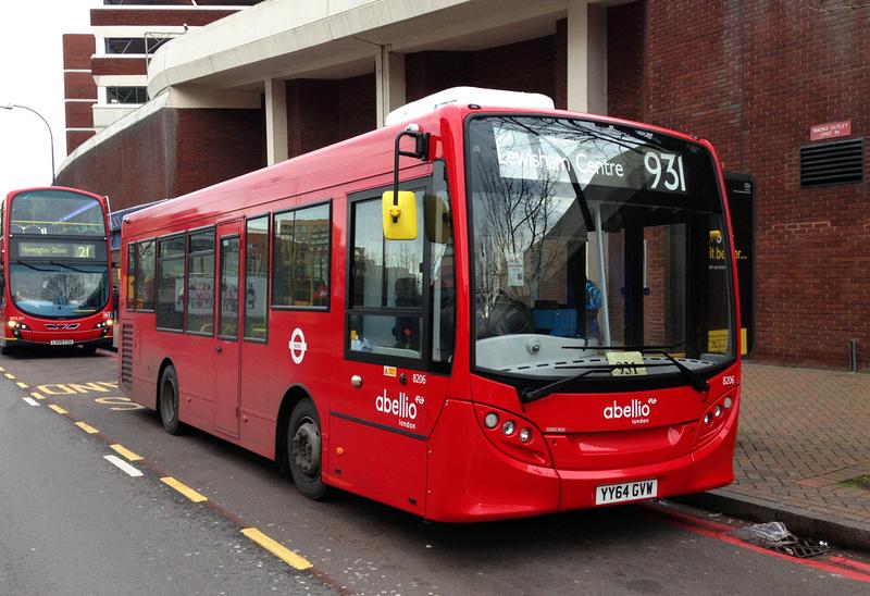 London Bus Routes Route 931 Crystal Palace Lewisham