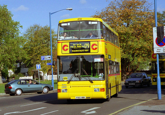 Route 179, Capital Citybus 410, P910HMH, Chingford