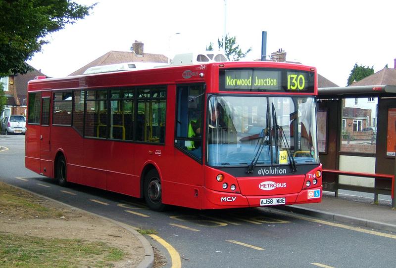 London Bus Routes Route 130 New Addington Thornton
