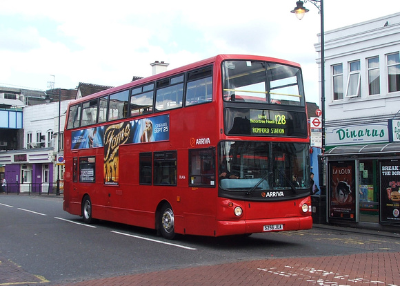 Route 128, Arriva London, DLA56, S256JUA, Romford Station