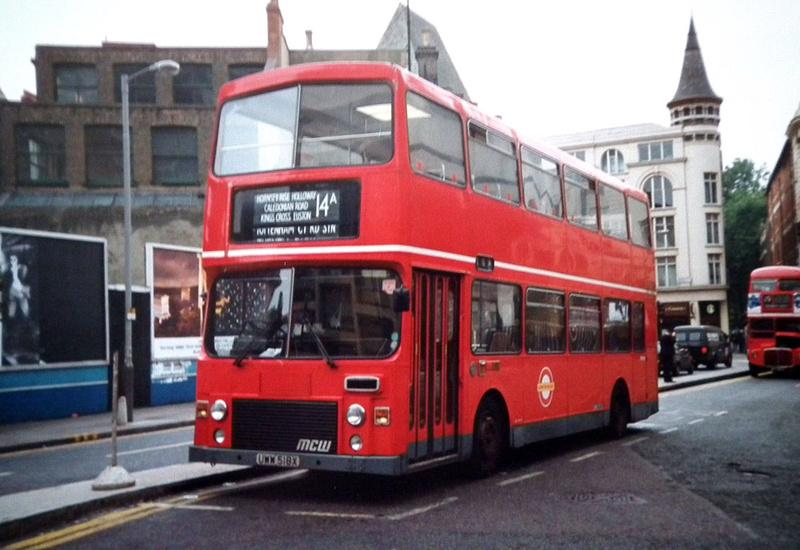 London Bus Routes Route 14a Crouch End Tottenham