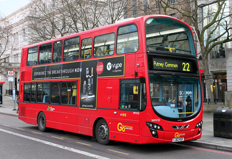 London Bus Routes Route 22 Oxford Circus Putney