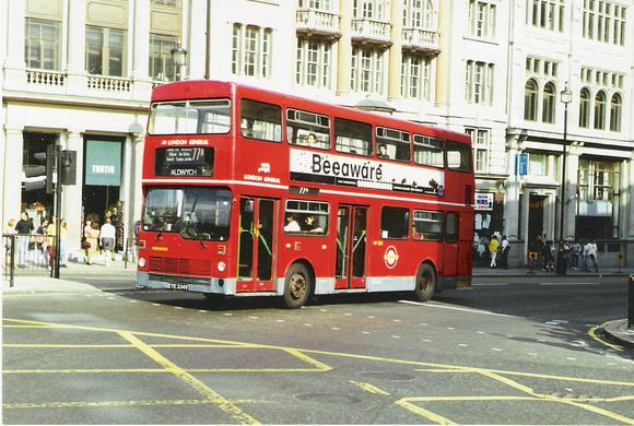 Route 77A, London General, M334, EYE334V