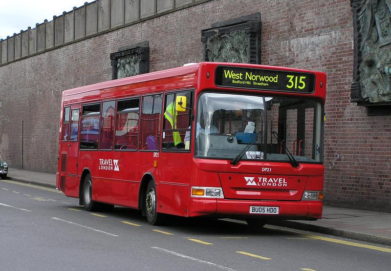 London Bus Routes Route 315 Balham West Norwood