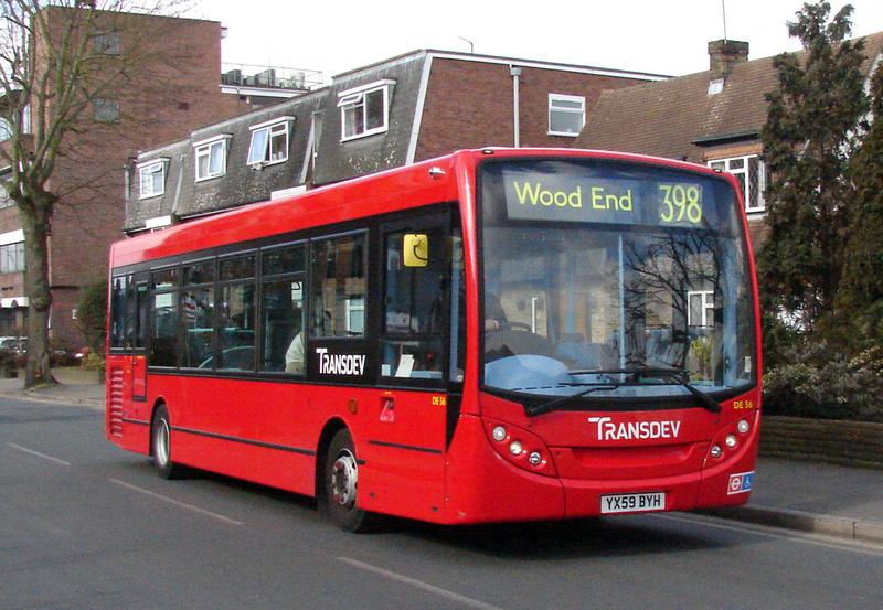 London Bus Routes | Route 398: Ruislip - Wood End