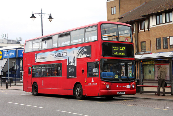 Route 247, East London ELBG 17394, LX51FHN, Romford