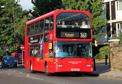 Route 267, London United RATP, SLE20, YN55NHP