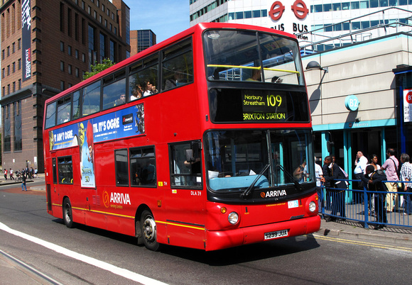Route 109, Arriva London, DLA39, S239JUA, Croydon