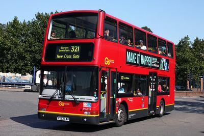 Route 321, Go Ahead London, PVL323, PJ52LWA, Lewisham