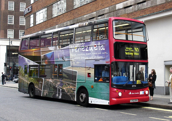 London Bus Routes Route 30 Hackney Wick Marble Arch