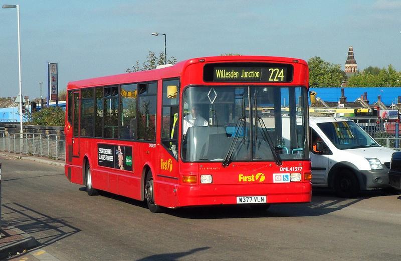 London Bus Routes Route 224 St Raphael S Wembley Stadium