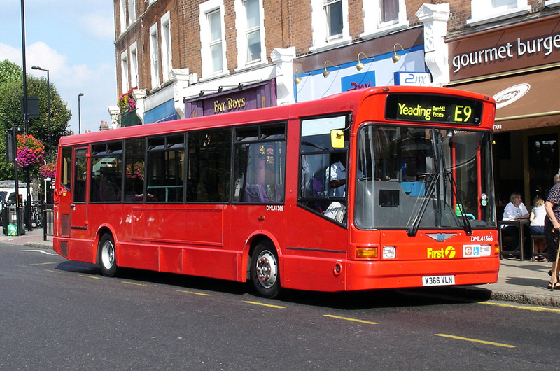 London Bus Routes | Route E9: Ealing Broadway - Yeading, Barnhill Estate