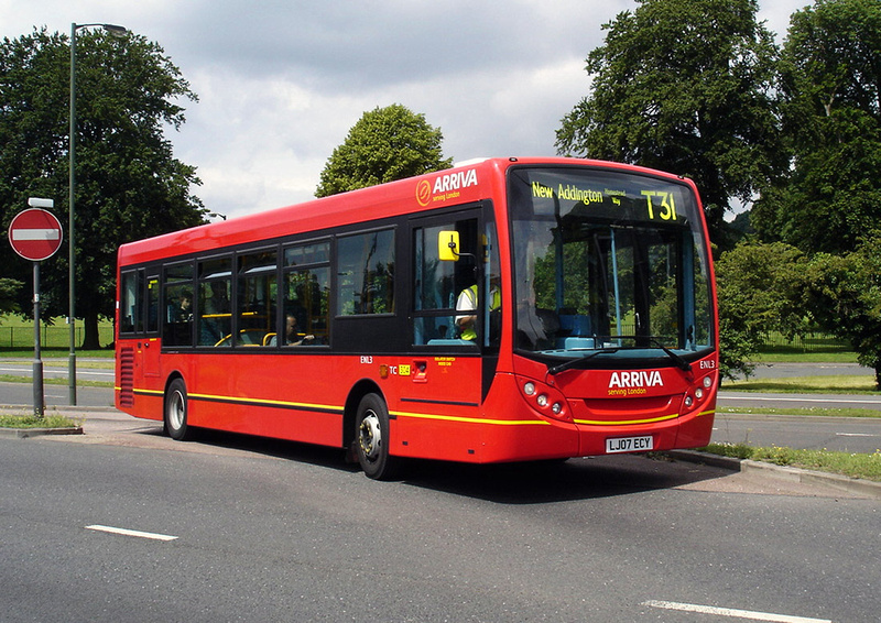 London Bus Routes Route T31 Forestdale New Addington