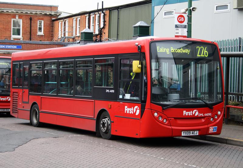 London Bus Routes Route 226 Ealing Broadway Golders