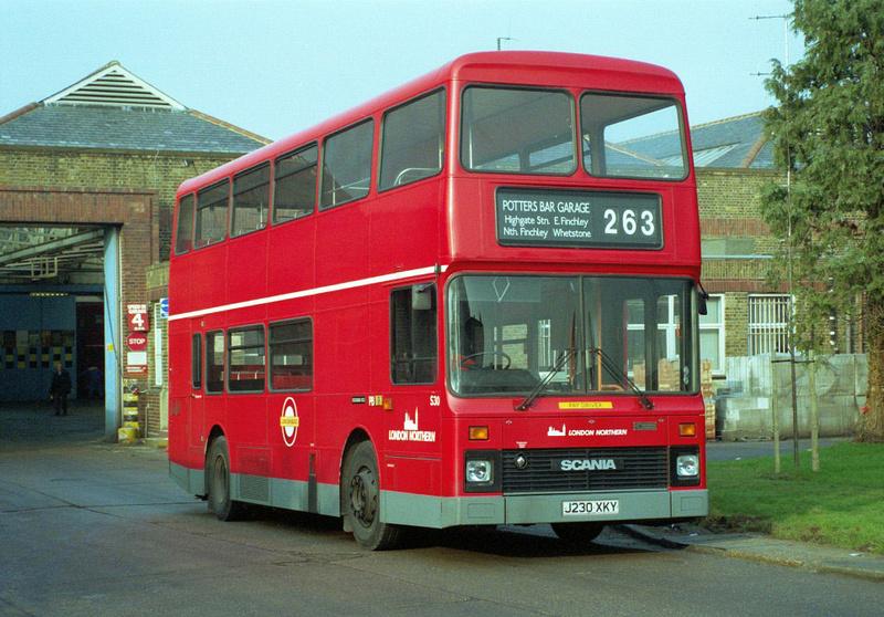 London Bus Routes Route 263 Barnet Hospital Highbury Barn