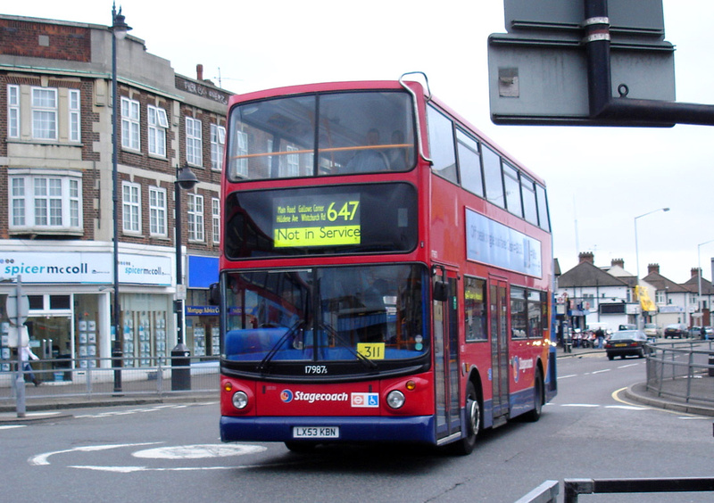 London Bus Routes Route 647 Romford Station Settle Road Schools Withdrawn