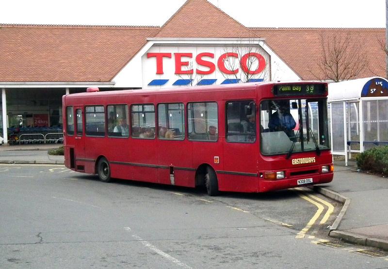 London Bus Routes | Eastonways | Route 38, Eastonways