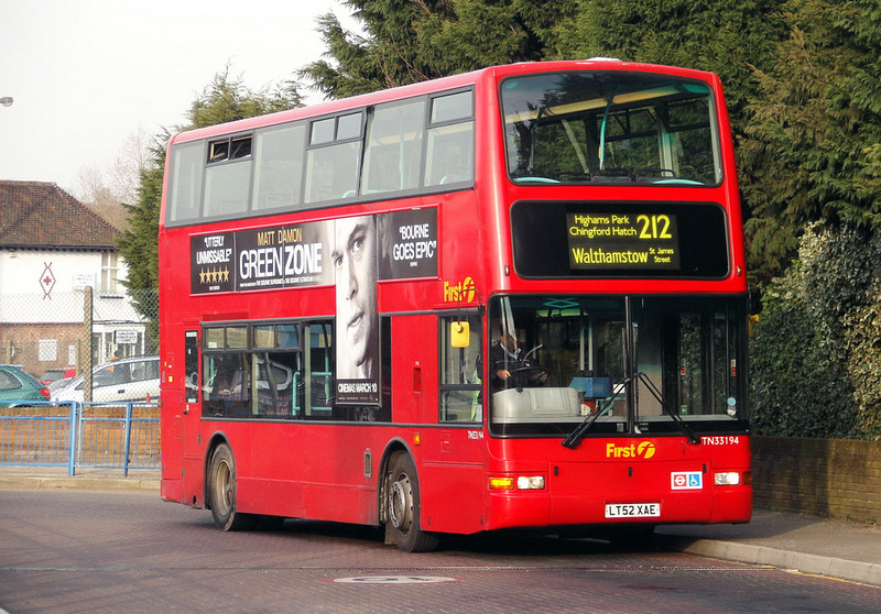 London Bus Routes Route 212 Chingford Station St