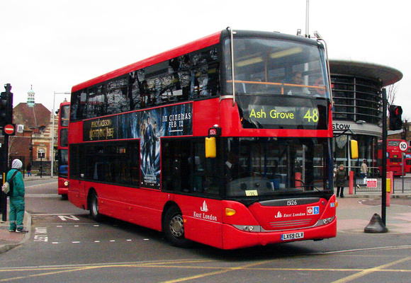 Route 48, East London ELBG 15126, LX59CLV, Walthamstow