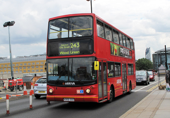 Route 243, Arriva London, DLA230, X502GGO, Waterloo