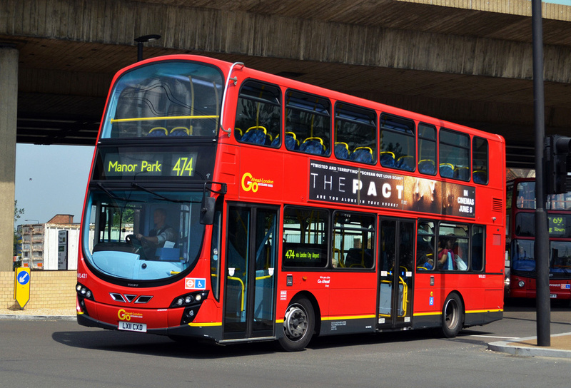 London Bus Routes Route 474 Canning Town Barking Road